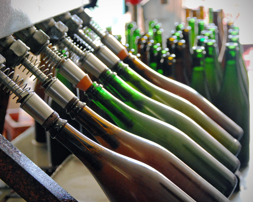 Embouteillage des bières