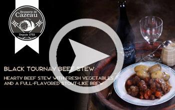 Tournay Noire Beef Stew Recipe